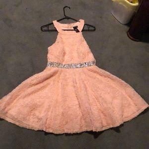 Light pink floral dress worn once.